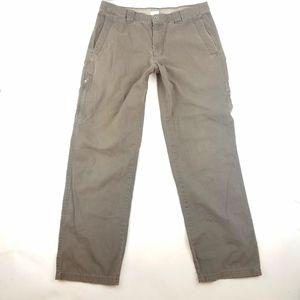 Mens Columbia Omni-Shield Work Pants Size 34x34